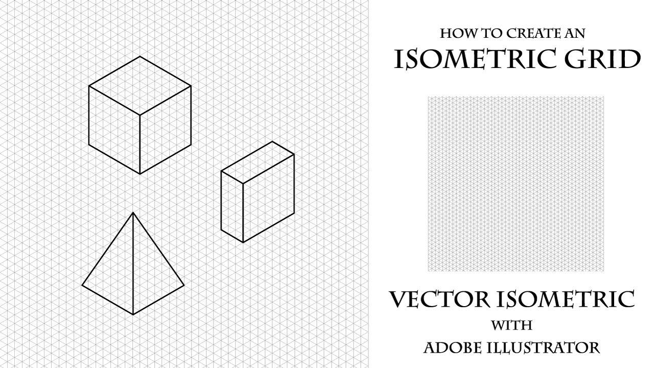 изометрическая сетка фотошоп