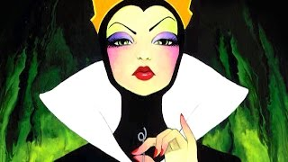 Evil Queen Snow White Speed Paint Demo by Leilani Joy