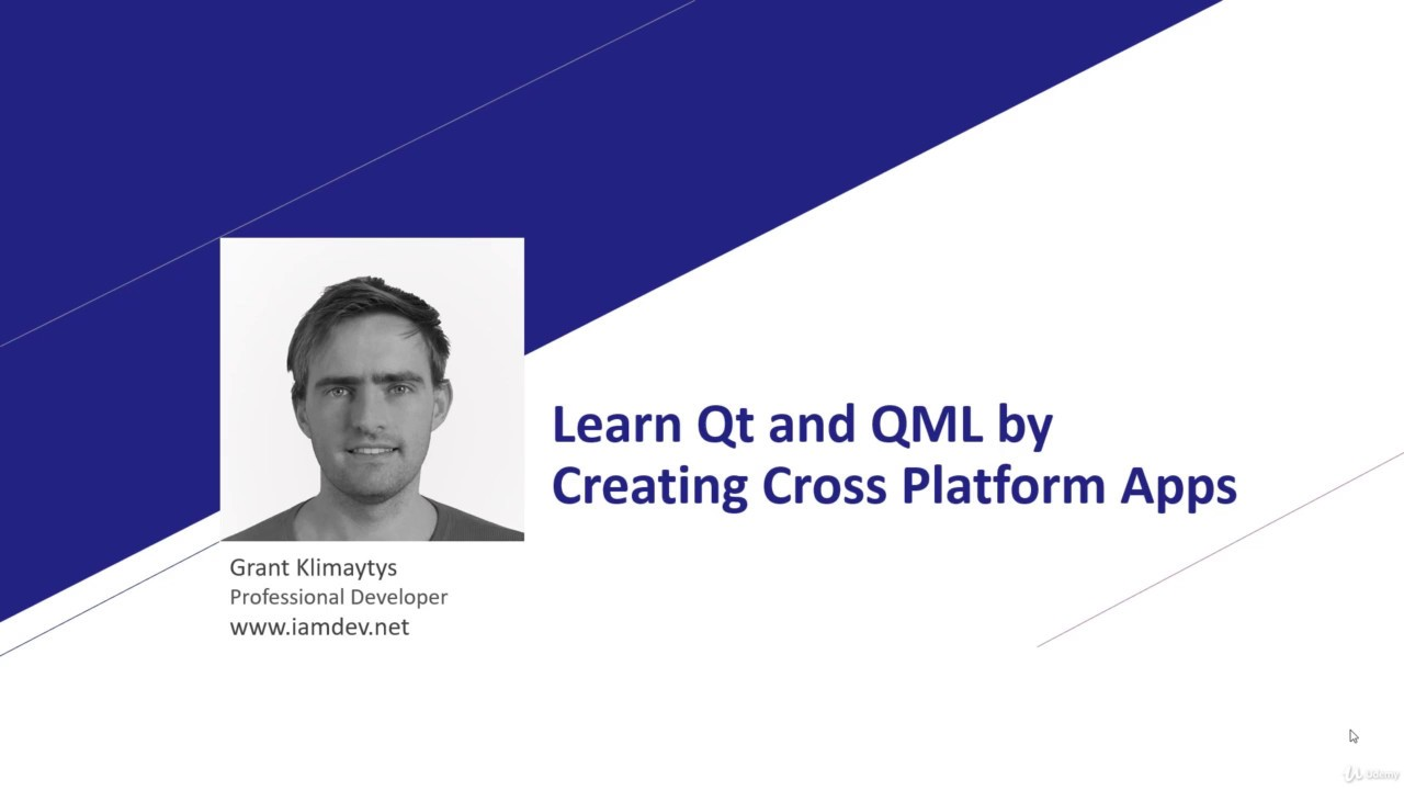 QML Tutorial: Learn Qt and QML to Create Native Cross Platform Apps with  Felgo