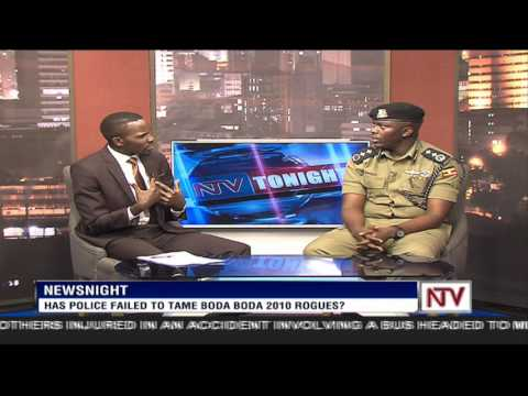 News Night: Frank Mwesigwa, Commander Kampala Metropolitan, on relationship with Boda Boda 2010