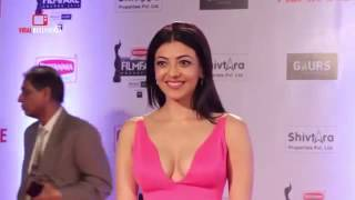 vuclip Kajal agarwal hot cleavage show