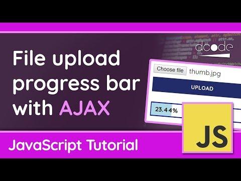 Creating An AJAX File Upload Progress Bar In JavaScript