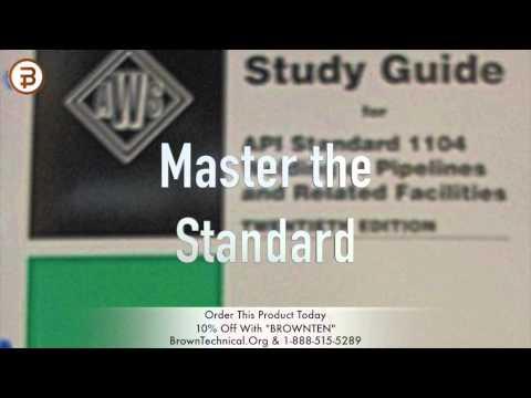 API 1104 Study Set YouTube