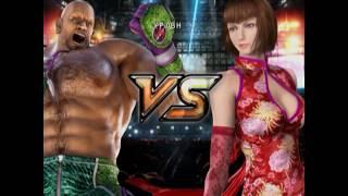 прохождение story mode Tekken 5 за всех персонажей (часть 1)