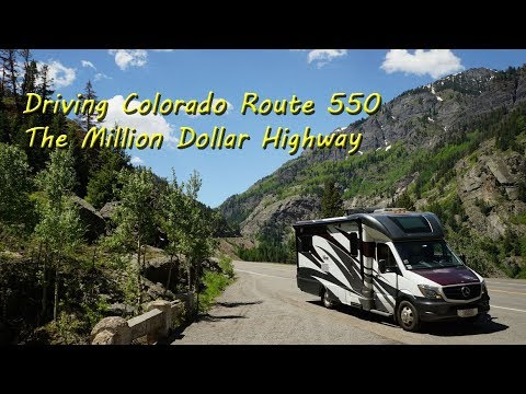 The Million Dollar Highway - SIlverton to Ouray