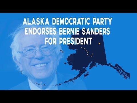 Alaska Democratic Party Endorses Bernie Sanders for President