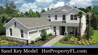 New Model Home Tour  Clermont FL  373995 Base Price  3835 sq ft  5 Bedrooms  45 Baths