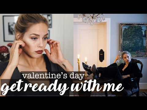 Get Ready With Me - Valentine
