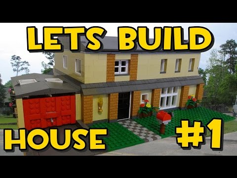 Lets Build Lego Family House #1 - Planning It Out