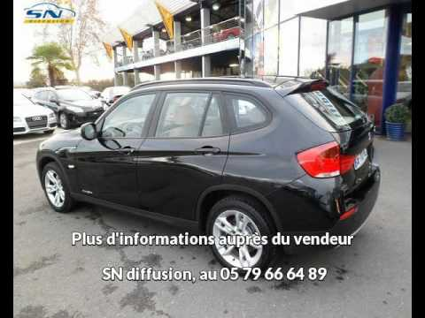 annonce de bmw x1 occasion du mandataire auto sn diffusion youtube. Black Bedroom Furniture Sets. Home Design Ideas