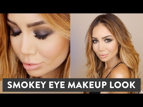 MY SMOKEY EYE MAKE UP TUTORIAL LOOK - GET READY WITH ME