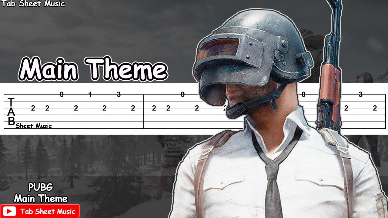PUBG - Main Theme Guitar Tutorial