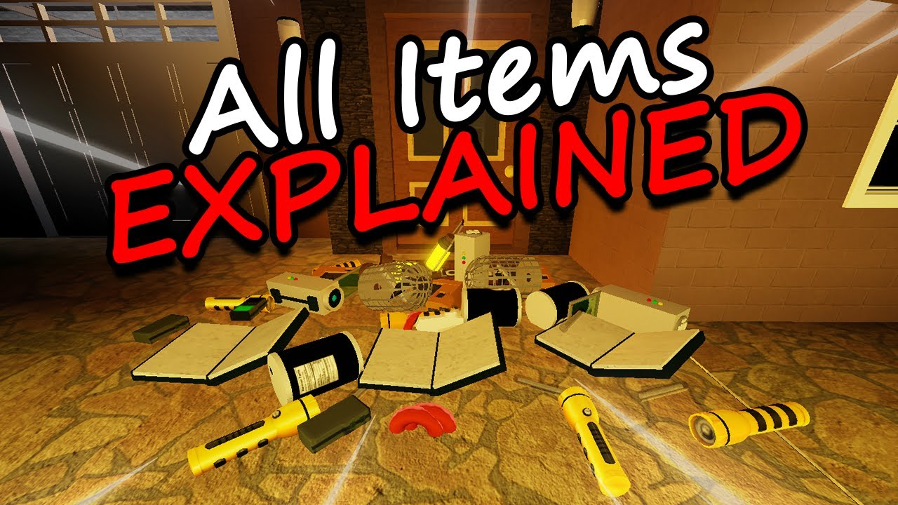 Download All Items Explained In Paranormica (Roblox)