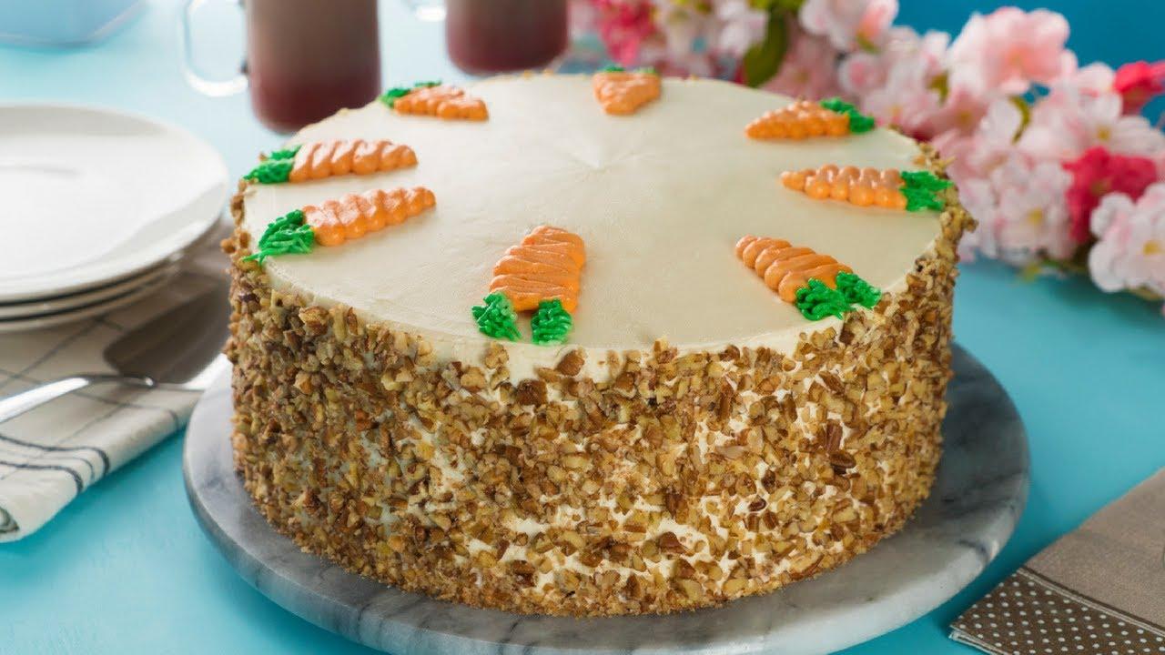 Pastel De Zanahoria Con Betun De Queso Crema Youtube Si te gusta la cocina saludable en casa, apunta los pasos de esta ensalada de pepino y zanahoria rallada. pastel de zanahoria con betun de queso crema