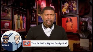 Jalen Rose: 'OKC in the second round could be a problem for the Rockets' | Jalen & Jacoby | ESPN