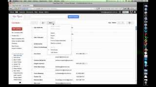 How to export contacts from Gmail thumbnail