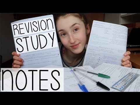 MAKE REVISION NOTES WITH ME! HOW TO MAKE THE MOST EFFECTIVE NOTES | A STEP-BY-STEP GUIDE + ADVICE