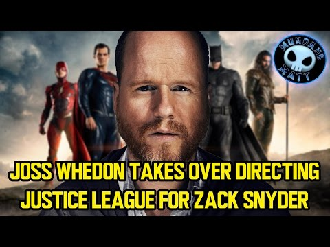 Joss Whedon takes over directing JUSTICE LEAGUE for Zack Snyder