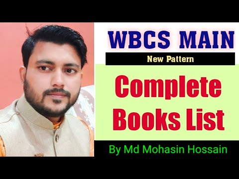 WBCS Main Complete Books List By MH EDUCATION LAB (Md Mohasin Hossain)