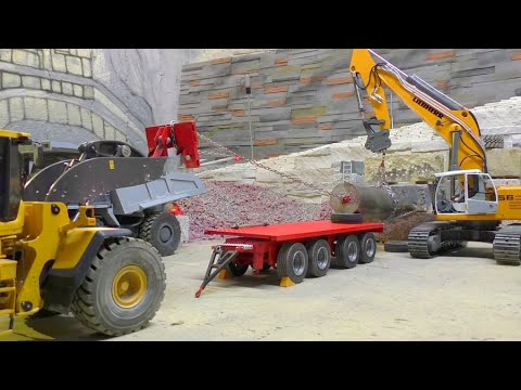 R/C CONSTRUCTION SITE, heavy transport one 45 ton Destroyer