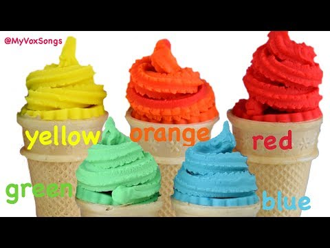 Learn Colors with Play Doh Ice Cream thumbnail