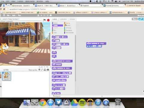 Creating a Story About You with Scratch