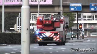 TS44-1 AL44-1 naar reanimatie in Rotterdam en ambulance naar Hoogvliet
