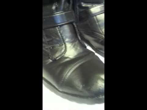 repairing faux leather boots