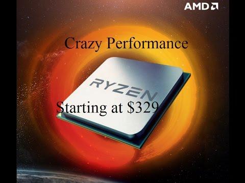 AMD Ryzen Revealed: Crazy 8 Core Performance at $329!