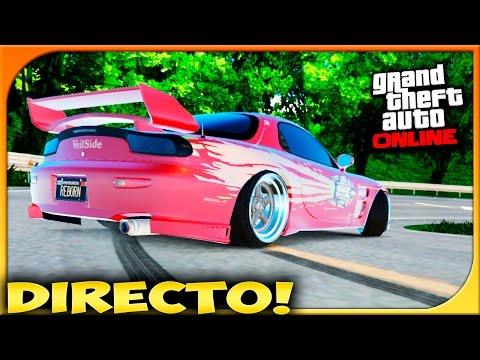 DRIFT EN DIRECTO!!! A DARLE CAÑA!! | GTA V ONLINE | c/Yosef,Weyss & Ares