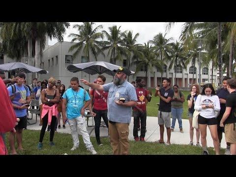 Large Crowds & CONVICTION at Florida International University | Kerrigan Skelly