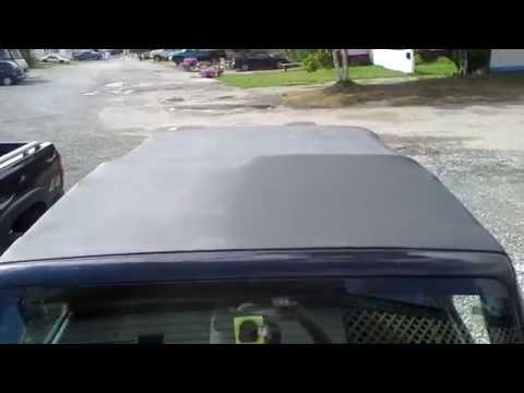 Jeep soft top black like new!