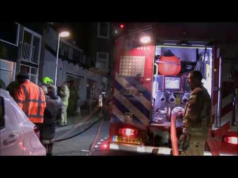 Twee gewonden bij brand #Doormanstraat #Capelle aan den IJssel