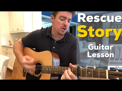 Rescue Story | Zach Williams | Beginner Guitar Lesson