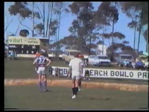 1988 Sapphire Coast AFL Reserve Grade Grand Final Narooma v Merimbula Diggers 1st Half