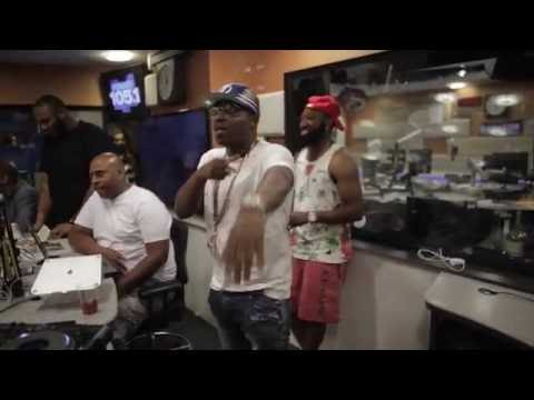 Uncle Murda - Cam'Ron voice 'ShotEveryDayB' (Live)