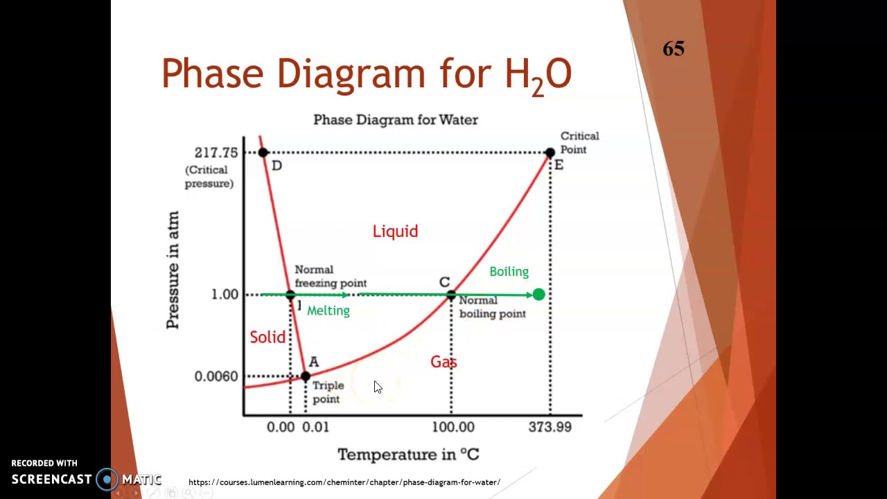 Chemistry U11 Notes - Phase Diagrams