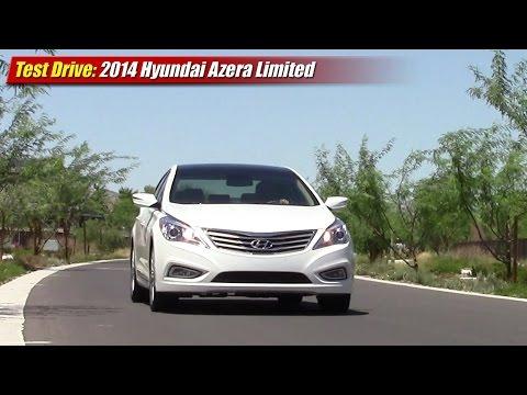 Test Drive: 2014 Hyundai Azera Limited