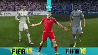 FIFA 15 vs. FIFA 16 Player Body Shape Comparison