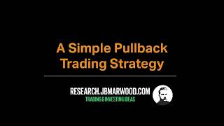 Try This Simple Pullback Trading Strategy - 75% Win Rate