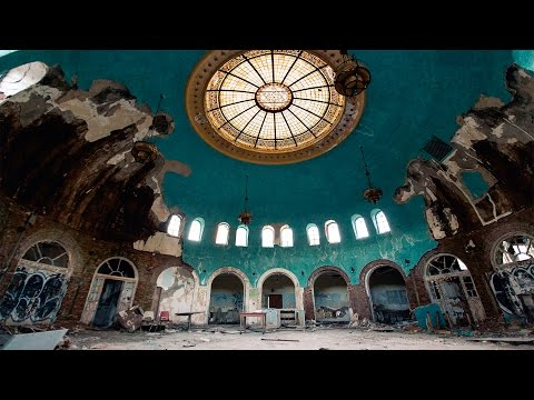 Abandoned Hospital with Amazing Domed Ceiling