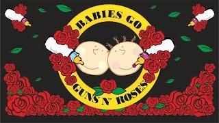 Download Babies go Guns N' Roses - Full Album. Guns N' Roses para bebés MP3 song and Music Video