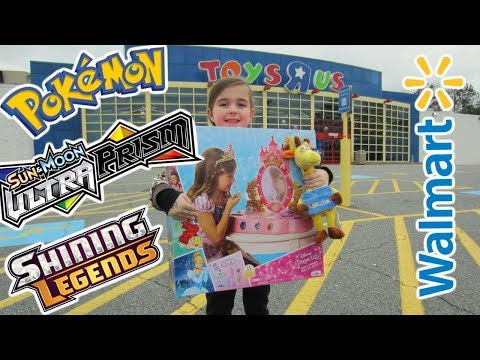 "Our ""Toys R US"" still Open / Pokemon & Toys vlog"