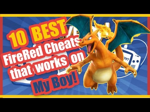My Boy Pokemon FireRed Best 10 Cheats