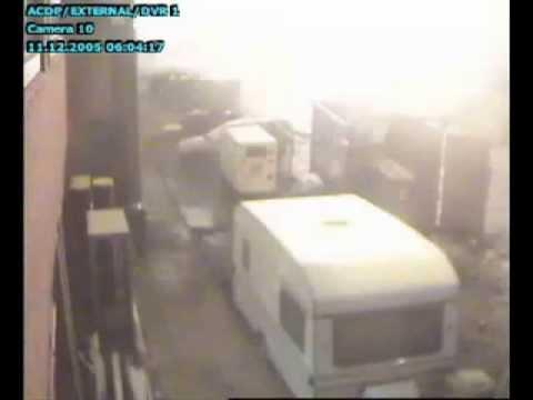 2005 Buncefield Explosion CCTV