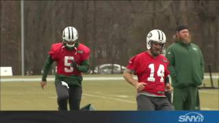 Jets coach Todd Bowles talks health, QBs, and...