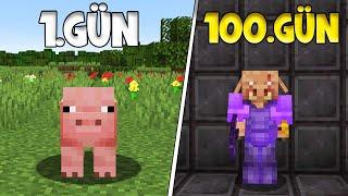 Minecraft AMA Her Gün şekil Değiştiriyorum