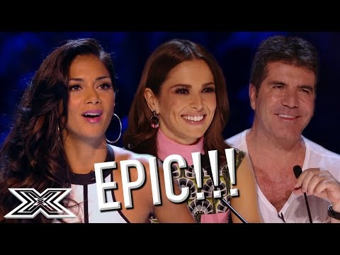 Most EXTREME And AMAZING Auditions From X Factor   X Factor Global