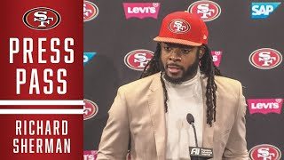 Richard Sherman on Loss to Seahawks | 49ers