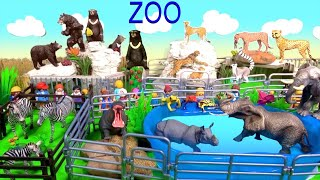 Fun Zoo Animals - Toys For Kids - Happy Cute Zoo Animal Toys